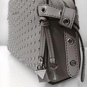 52b63c0d8f471 MICHAEL Michael Kors Bags - Michael Kors Bristol Studded Leather Messenger